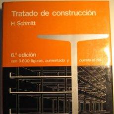 Libros de segunda mano: TRATADO DE CONSTRUCCIÓN. Lote 42672314