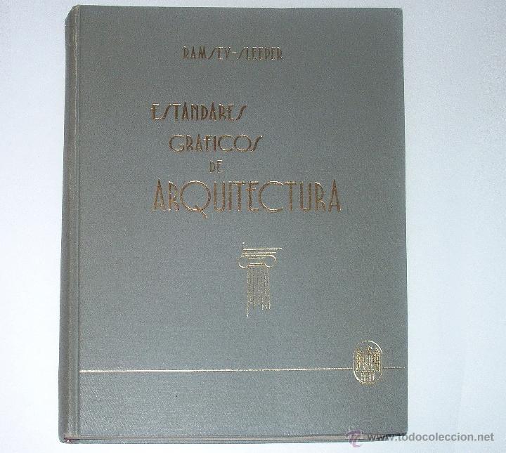 ESTÁNDARES GRÁFICOS ARQUITECTURA. RAMSEY SLEEPER. INGENIERÍA. NORMALIZACIÓN CONSTRUCCIÓN (Libros de Segunda Mano - Bellas artes, ocio y coleccionismo - Arquitectura)