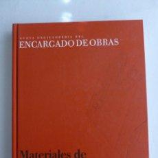 Libros de segunda mano: MATERIALES DE CONSTRUCCION. VARIOS AUTORES. CEAC. 2007 225 PAG. Lote 42970231