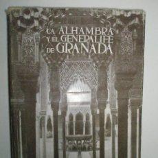 Libros de segunda mano: TORRES BALBÁS, L.: LA ALHAMBRA Y EL GENERALIFE DE GRANADA.. Lote 43203430