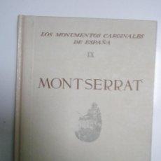 Libros de segunda mano: VERRIÉ, F. P.: MONTSERRAT . Lote 43220295