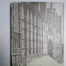 Libros de segunda mano: MATHEU MULET, P.A.:PALMA DE MALLORCAN MONUMENTAL. Lote 43220382