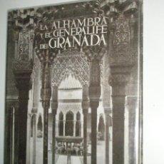 Libros de segunda mano: TORRES BALBÁS, L.: LA ALHAMBRA Y EL GENERALIFE DE GRANADA.. Lote 43246628