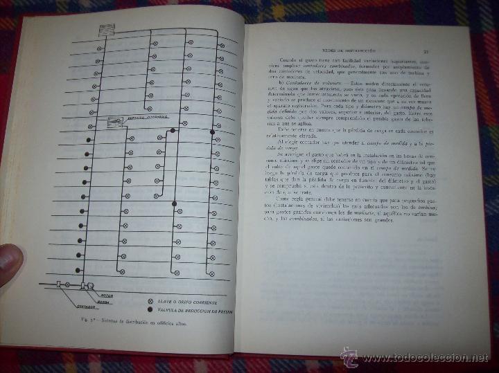 Libros de segunda mano: FONTANERÍA Y SANEAMIENTO.INSTALACIONES EN LOS EDIFICIOS.MARIANO RODRÍGUEZ.4ª EDICIÓN AMPLIADA 1965. - Foto 5 - 43559757