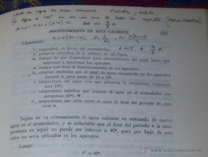 Libros de segunda mano: FONTANERÍA Y SANEAMIENTO.INSTALACIONES EN LOS EDIFICIOS.MARIANO RODRÍGUEZ.4ª EDICIÓN AMPLIADA 1965. - Foto 18 - 43559757