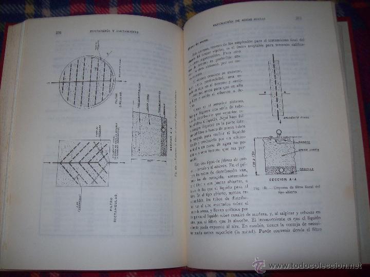 Libros de segunda mano: FONTANERÍA Y SANEAMIENTO.INSTALACIONES EN LOS EDIFICIOS.MARIANO RODRÍGUEZ.4ª EDICIÓN AMPLIADA 1965. - Foto 33 - 43559757