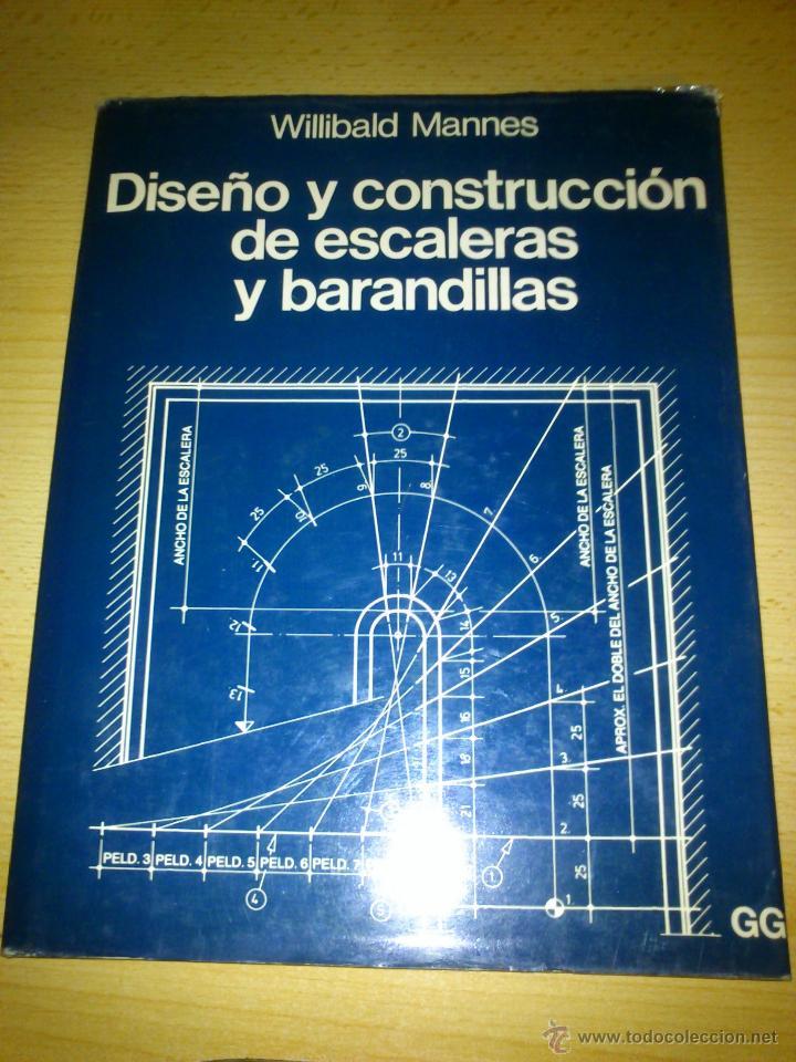 Dise o y construccion de escaleras y barandilla comprar for Libro medidas arquitectura