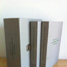 Libros de segunda mano: PROYECTO DE LA UNIVERSIDAD PRIVADA DE MADRID. MEMORIA Y PLANOS. AÑO 1991.. Lote 43947712