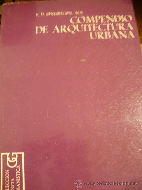 COMPENDIO DE ARQUITECTURA URBANA (BARCELONA, 1971) (Libros de Segunda Mano - Bellas artes, ocio y coleccionismo - Arquitectura)