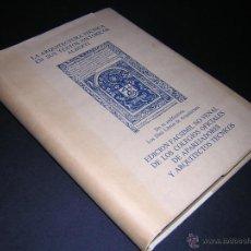 Libros de segunda mano: 1975 - ALBERTI - DE RE AEDIFICATORIA Ó LOS DIEZ LIBROS DE ARCHITECTURA - FACSIMIL. Lote 44298657