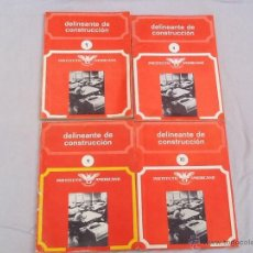Libros de segunda mano: LOTE DE 4 LIBROS DE DELINEANTE DE CONSTRUCCION. Lote 45330164