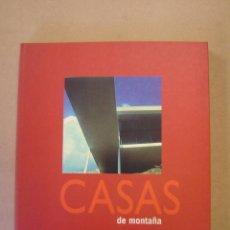 Libros de segunda mano: CASAS DE MONTAÑA - OSCAR ASENSIO. Lote 45980578