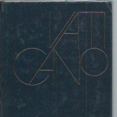 Libros de segunda mano: VATICANO, ORESTE FERRARI, TESORO DE LOS GRANDES MUSEOS CÍRCULO DE LECTORES BCN 1973. Lote 46014129