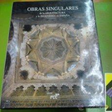 Libros de segunda mano: VARIOS AUTORES: OBRAS SINGULARES DE LA ARQUITECTURA Y LA INGENIERÍA EN ESPAÑA.. Lote 46146306