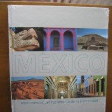 Libros de segunda mano: MEXICO. MONUMENTOS DEL PATRIMONIO DE LA HUMANIDAD. UNESCO Y BBVA. (PERFECTO SIN ABRIR). Lote 46158647
