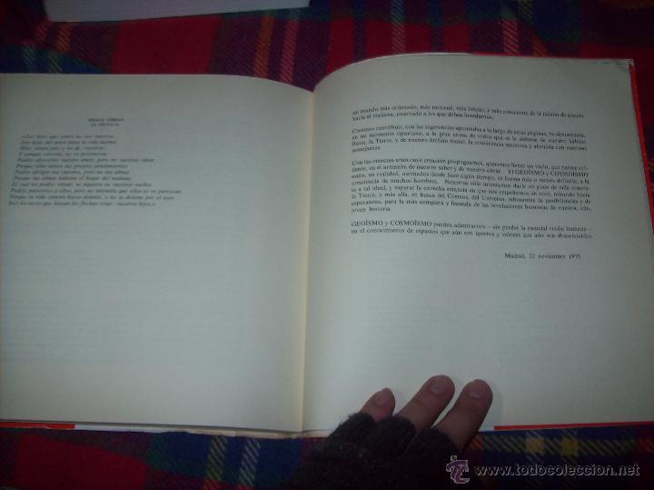 Libros de segunda mano: COSMOISMO Y GEOISMO. DEDICATORIA Y FIRMA ORIGINAL DEL AUTOR ANTONIO LAMELA.1976.MAGNÍFICO EJEMPLAR. - Foto 15 - 46573583