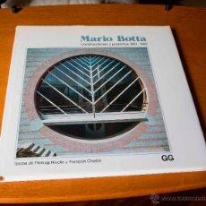 Libros de segunda mano: MARIO BOTTA - CONSTRUCCIONES Y PROYECTOS 1961 / 1982 - EDITORIAL: GUSTAVO GILI. 1985. Lote 46765829