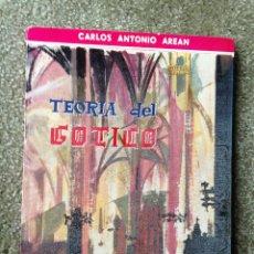 Libros de segunda mano: TEORÍA DEL GÓTICO. CARLOS ANTONIO AREÁN. COLECCIÓN MEDIODÍA. 1961. Lote 47447535
