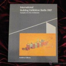 Libros de segunda mano: INTERNATIONAL BUILDING EXHIBITION BERLIN 1987 - ACADEMY EDITIONS - LONDON. Lote 47734211