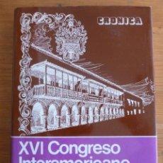 Libros de segunda mano: XII CONGRESO INTERAMEIRCANO DE MUNICIPIOS. INSA.ADM.LOCAL. 1978 314 PAG. Lote 47974702