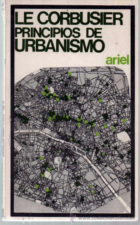Le Corbusier Principios De Urbanismo La Carta Comprar