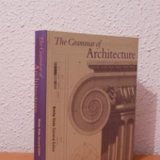 Libros de segunda mano: THE GRAMMAR OF ARCHITECTURE. Lote 48609700