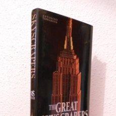Libros de segunda mano: THE GREAT SKYSCRAPERS OF THE WORLD. Lote 48627358