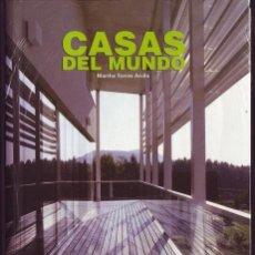 Libros de segunda mano: CASAS DEL MUNDO. MARTHA TORRES ARCILA. ED. ATRIUM. . Lote 48710433