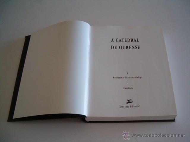 Libros de segunda mano: VV.AA. A Catedral de Ourense. I. Patrimonio Histórico Galego.1. Catedrais. RM69196. - Foto 2 - 49288358