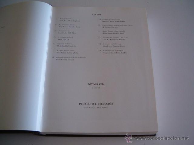Libros de segunda mano: VV.AA. A Catedral de Ourense. I. Patrimonio Histórico Galego.1. Catedrais. RM69196. - Foto 3 - 49288358