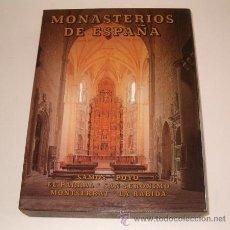 Libros de segunda mano: MONASTERIOS DE ESPAÑA III: SAMOS. POYO. EL PARRAL. SAN JERÓNIMO. MONTSERRAT. LA RÁBIDA. RM69671. . Lote 49895717