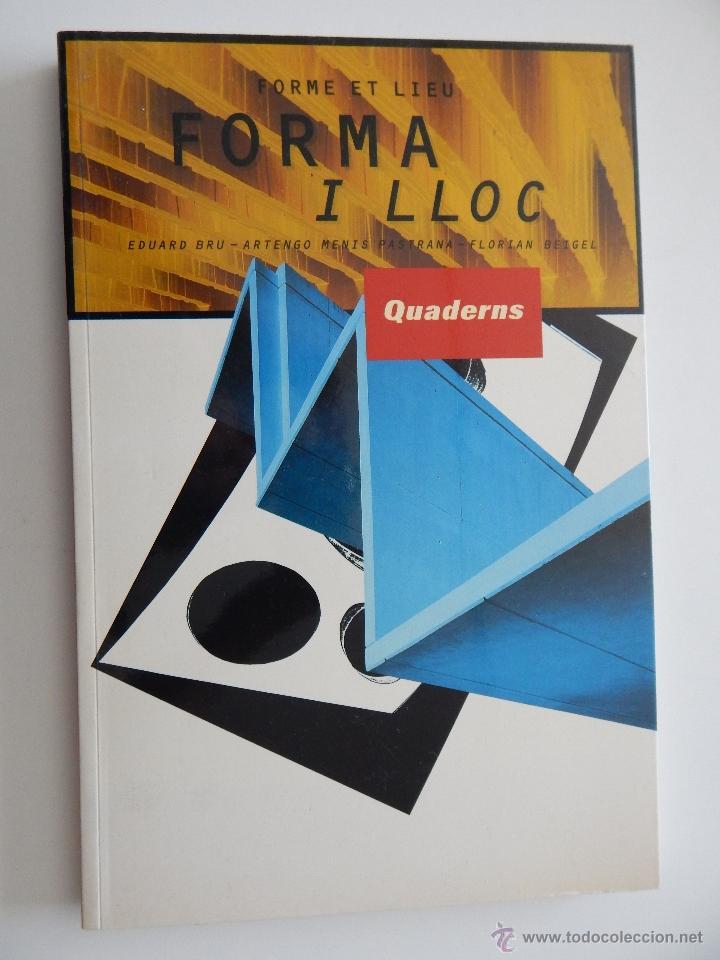 QUADERNS D'ARQUITECTURA I URBANISME. 216. FORMA I LLOC. FORME ET LIEU - 1997 (Libros de Segunda Mano - Bellas artes, ocio y coleccionismo - Arquitectura)