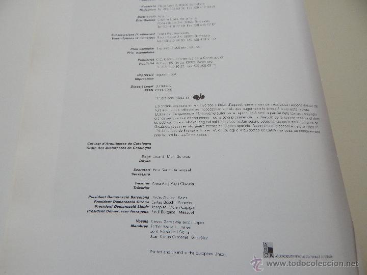 Libros de segunda mano: Quaderns dArquitectura i Urbanisme. 216. Forma i lloc. Forme et lieu - 1997 - Foto 11 - 50107512