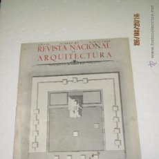 Libros de segunda mano: ANTIGUA REVISTA NACIONAL DE ARQUITECTURA Nº 87 EDITA COLEGIO OFICIAL DE ARQUITECTOS MADRID - AÑO1949. Lote 50110542