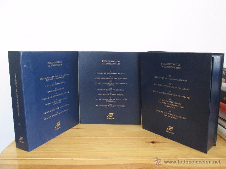 REHABILITACION DE EDIFICIOS. 19 CUADERNOS EN ENTUCHE. ED. DRAGADOS. VER FOTOGRAFIAS ADJUNTAS. (Libros de Segunda Mano - Bellas artes, ocio y coleccionismo - Arquitectura)