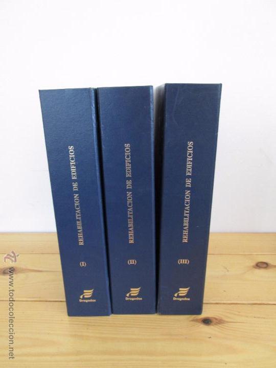 Libros de segunda mano: REHABILITACION DE EDIFICIOS. 19 CUADERNOS EN ENTUCHE. ED. DRAGADOS. VER FOTOGRAFIAS ADJUNTAS. - Foto 2 - 50276082