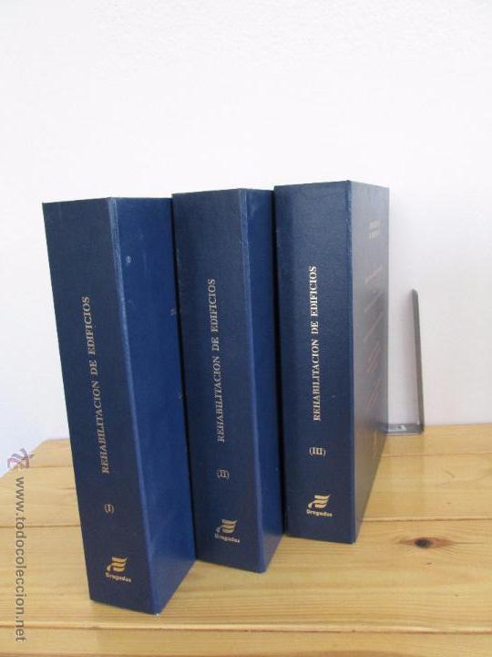 Libros de segunda mano: REHABILITACION DE EDIFICIOS. 19 CUADERNOS EN ENTUCHE. ED. DRAGADOS. VER FOTOGRAFIAS ADJUNTAS. - Foto 4 - 50276082