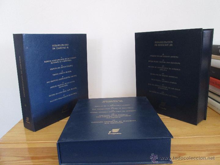 Libros de segunda mano: REHABILITACION DE EDIFICIOS. 19 CUADERNOS EN ENTUCHE. ED. DRAGADOS. VER FOTOGRAFIAS ADJUNTAS. - Foto 5 - 50276082