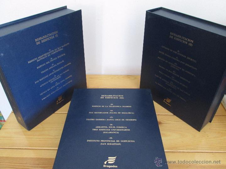 Libros de segunda mano: REHABILITACION DE EDIFICIOS. 19 CUADERNOS EN ENTUCHE. ED. DRAGADOS. VER FOTOGRAFIAS ADJUNTAS. - Foto 6 - 50276082