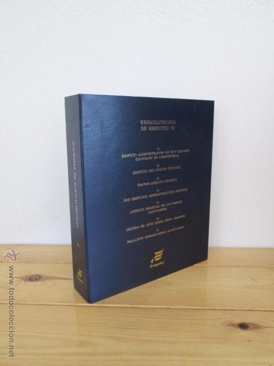 Libros de segunda mano: REHABILITACION DE EDIFICIOS. 19 CUADERNOS EN ENTUCHE. ED. DRAGADOS. VER FOTOGRAFIAS ADJUNTAS. - Foto 7 - 50276082