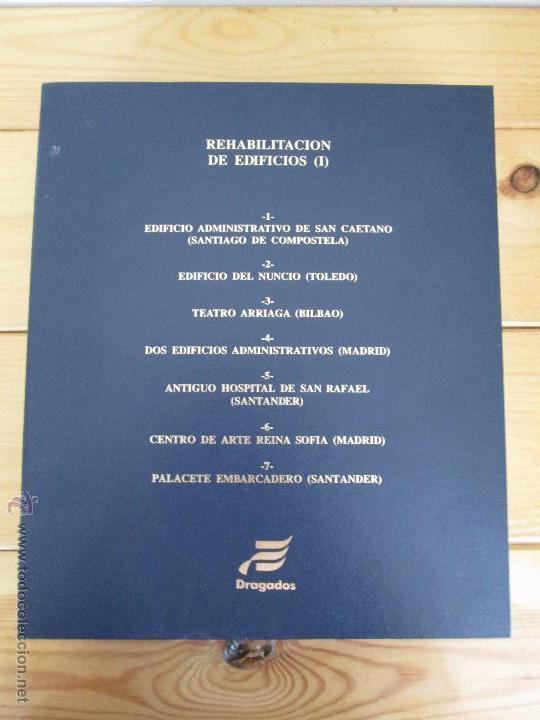 Libros de segunda mano: REHABILITACION DE EDIFICIOS. 19 CUADERNOS EN ENTUCHE. ED. DRAGADOS. VER FOTOGRAFIAS ADJUNTAS. - Foto 8 - 50276082