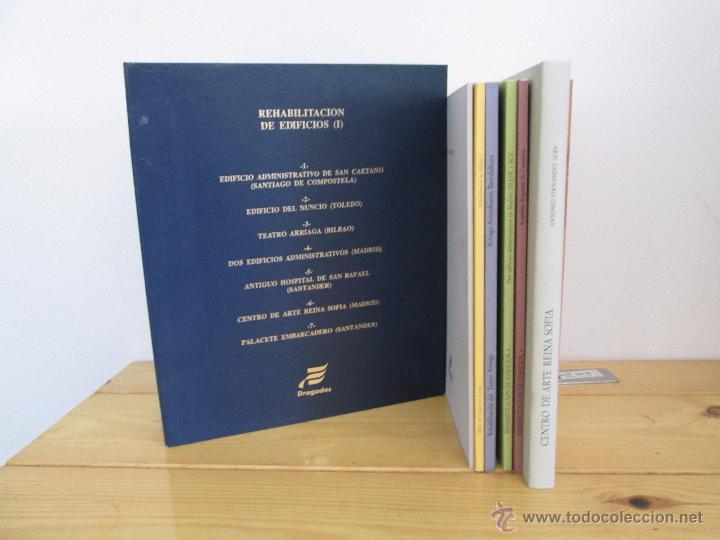 Libros de segunda mano: REHABILITACION DE EDIFICIOS. 19 CUADERNOS EN ENTUCHE. ED. DRAGADOS. VER FOTOGRAFIAS ADJUNTAS. - Foto 10 - 50276082