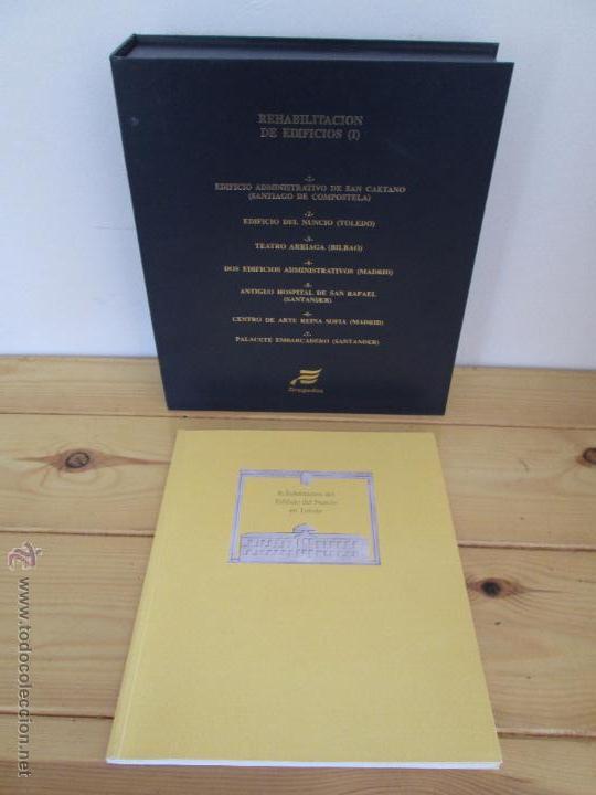 Libros de segunda mano: REHABILITACION DE EDIFICIOS. 19 CUADERNOS EN ENTUCHE. ED. DRAGADOS. VER FOTOGRAFIAS ADJUNTAS. - Foto 21 - 50276082