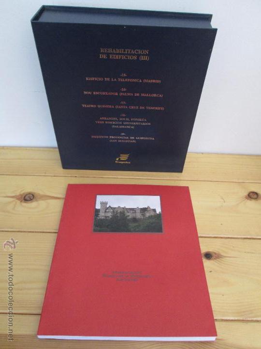 Libros de segunda mano: REHABILITACION DE EDIFICIOS. 19 CUADERNOS EN ENTUCHE. ED. DRAGADOS. VER FOTOGRAFIAS ADJUNTAS. - Foto 39 - 50276082