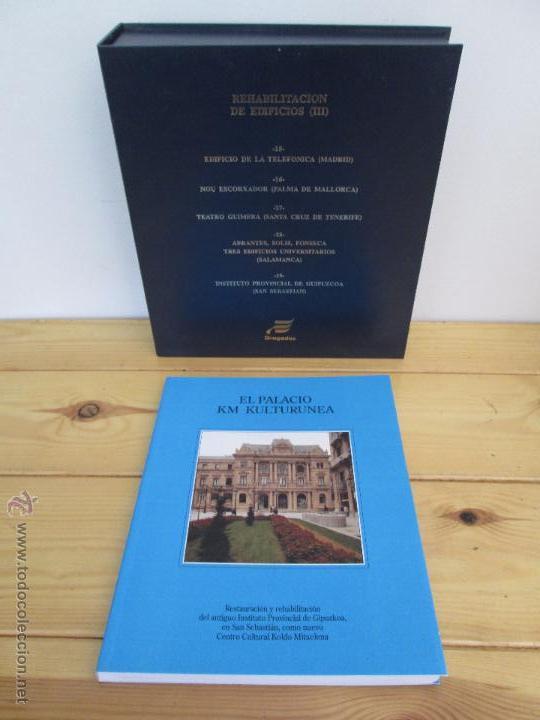 Libros de segunda mano: REHABILITACION DE EDIFICIOS. 19 CUADERNOS EN ENTUCHE. ED. DRAGADOS. VER FOTOGRAFIAS ADJUNTAS. - Foto 55 - 50276082