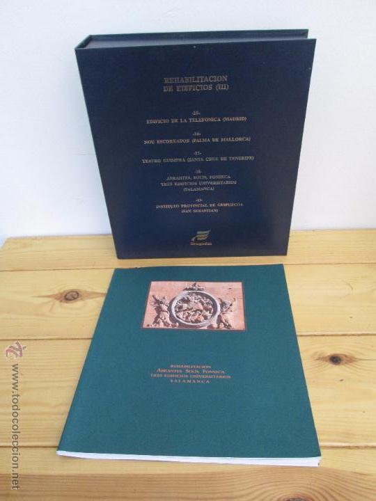 Libros de segunda mano: REHABILITACION DE EDIFICIOS. 19 CUADERNOS EN ENTUCHE. ED. DRAGADOS. VER FOTOGRAFIAS ADJUNTAS. - Foto 71 - 50276082