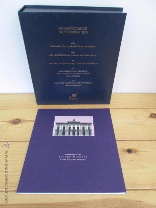 Libros de segunda mano: REHABILITACION DE EDIFICIOS. 19 CUADERNOS EN ENTUCHE. ED. DRAGADOS. VER FOTOGRAFIAS ADJUNTAS. - Foto 83 - 50276082