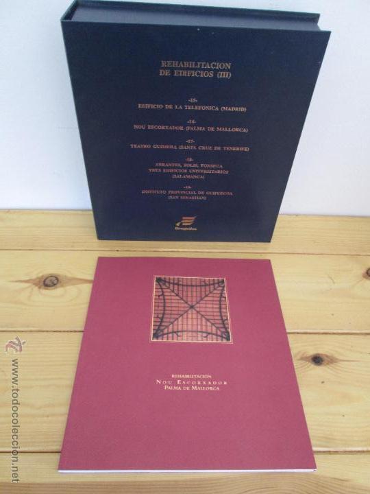 Libros de segunda mano: REHABILITACION DE EDIFICIOS. 19 CUADERNOS EN ENTUCHE. ED. DRAGADOS. VER FOTOGRAFIAS ADJUNTAS. - Foto 93 - 50276082