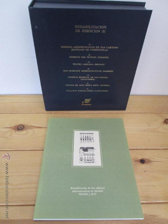 Libros de segunda mano: REHABILITACION DE EDIFICIOS. 19 CUADERNOS EN ENTUCHE. ED. DRAGADOS. VER FOTOGRAFIAS ADJUNTAS. - Foto 135 - 50276082