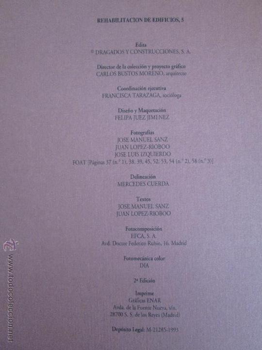 Libros de segunda mano: REHABILITACION DE EDIFICIOS. 19 CUADERNOS EN ENTUCHE. ED. DRAGADOS. VER FOTOGRAFIAS ADJUNTAS. - Foto 151 - 50276082